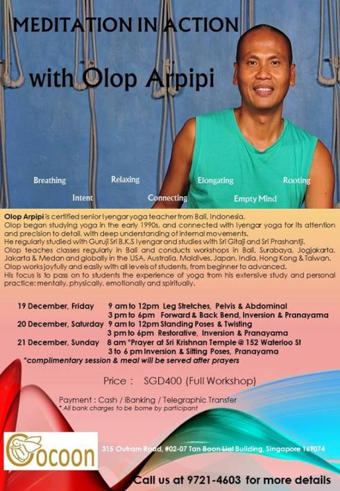 Olops Arpipi workshop