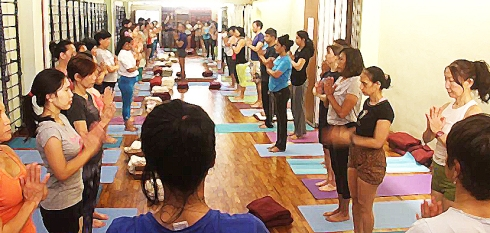 international day of yoga class 2016